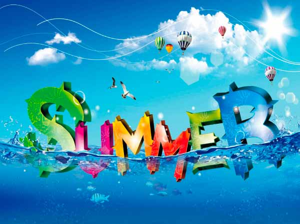 Картинки летом фото